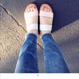 Dolce Vita Slides - Pasia Banded Slide Sandal